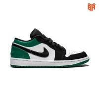 Giày Nike Jordan 1 Low Mystic Green Đen Xanh Lá (Rep 11)