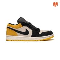 Giày Nike Jordan 1 Low Yellow/Vàng (Rep 1:1)
