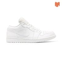 Giày Nike Jordan 1 Low Triple White/Full Trắng