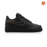 Giày Nike Air Force 1 Đen Kẻ Vàng (Siêu cấp)