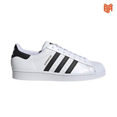 Adidas Superstar Sò Trắng Sọc Đen (Rep11)