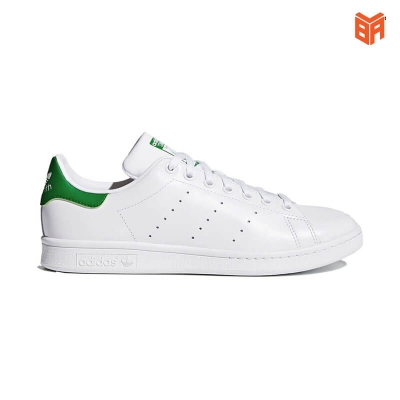 Adidas Stan Smith Trắng Gót Xanh (Rep11)