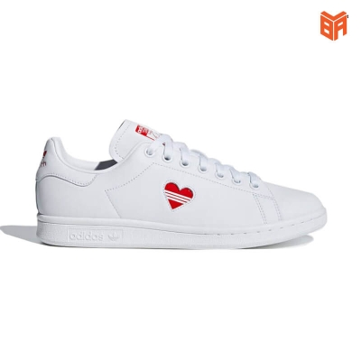 Adidas Stan Smith Trắng tim (Rep11)