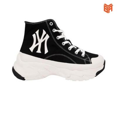 Giày MLB NY Chunky High/Cổ Cao Đen