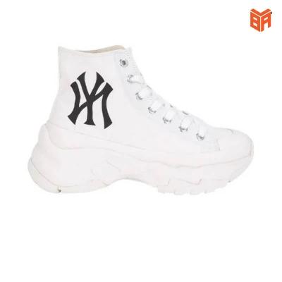 Giày MLB NY Chunky High/Cổ Cao Trắng