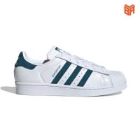 Adidas Superstar Sò Trắng Xanh  (Rep11)