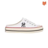 Giày MLB Playball Origin Mule Trắng/White