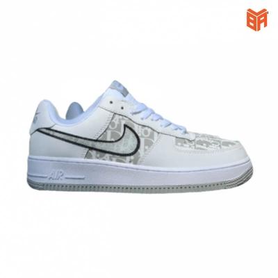 Giày Nike Air Force 1 Dior Đế Xám (Rep 11)