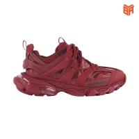 Giày balenciaga track dark red