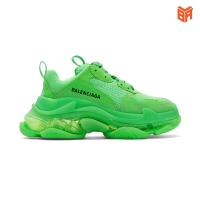 Giày Balenciaga Triple S Green/Xanh Lá (Rep 11)