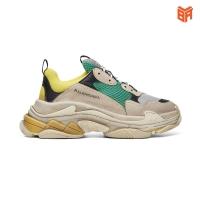Giày Balen Triple S Yellow Green Xanh Vàng (Rep1:1)