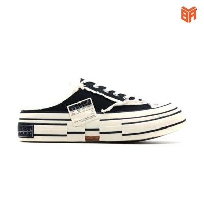 Giày Xvessel G.O.P Black/Đen Slip On Đạp Gót Rep 1:1